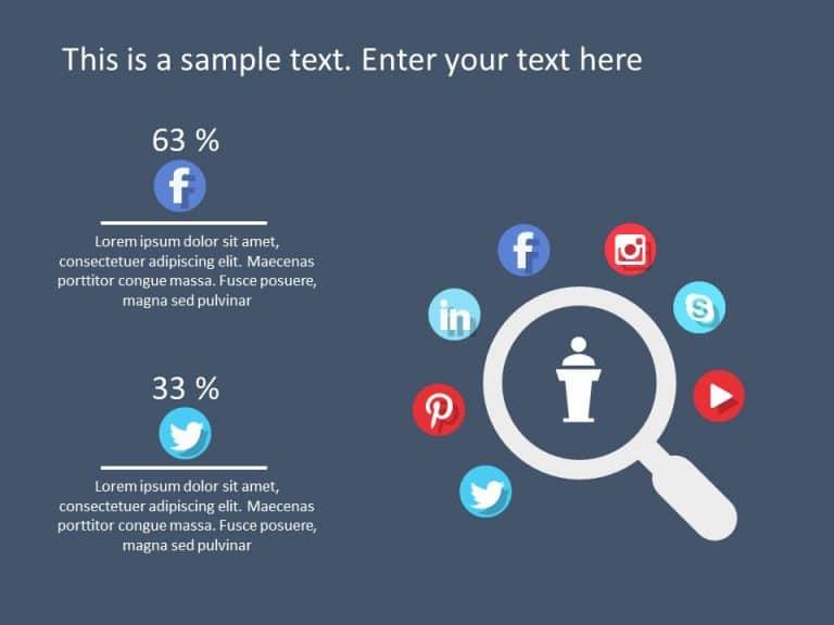 Social Media Marketing PowerPoint Template 6