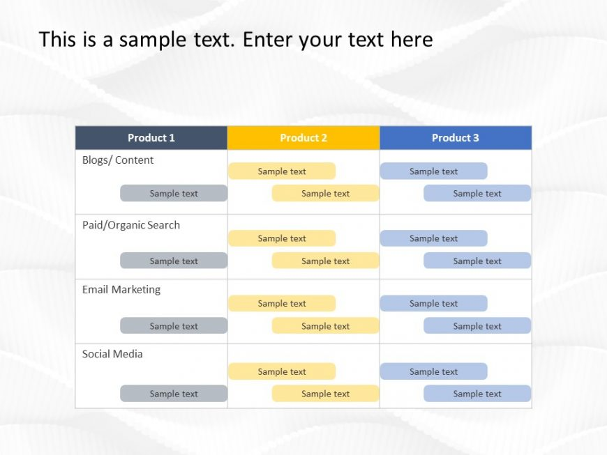 Digital Marketing Plan PowerPoint Template