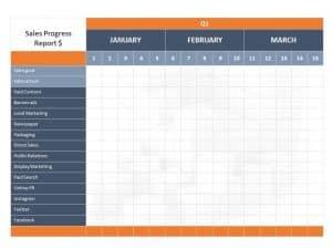 Marketing Plan PowerPoint Template 1