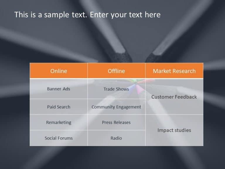 Marketing Plan PowerPoint Template 2