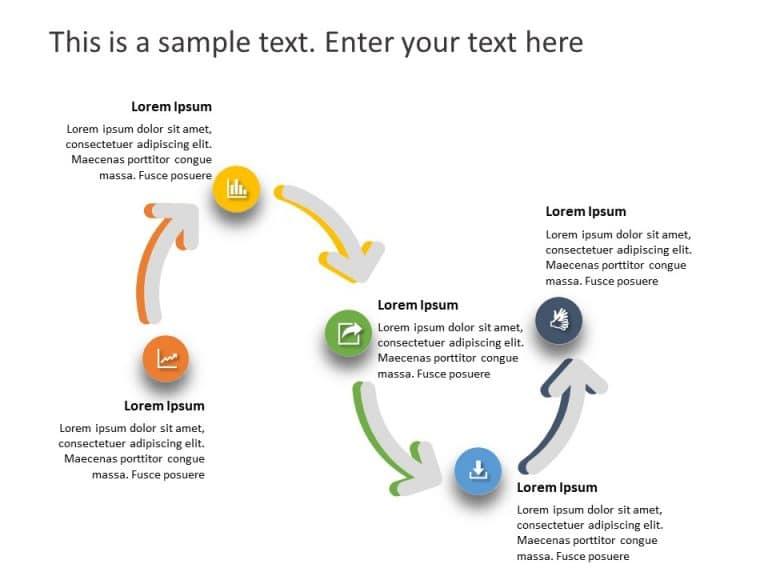 Business Roadmap PowerPoint Template 44