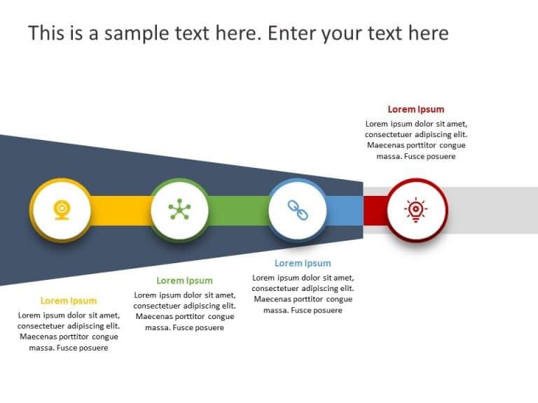 Business Roadmap PowerPoint Template 46
