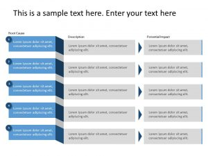 5 Why Analysis PowerPoint Template 1