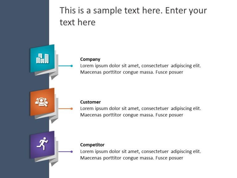 3Cs Marketing PowerPoint Template 14