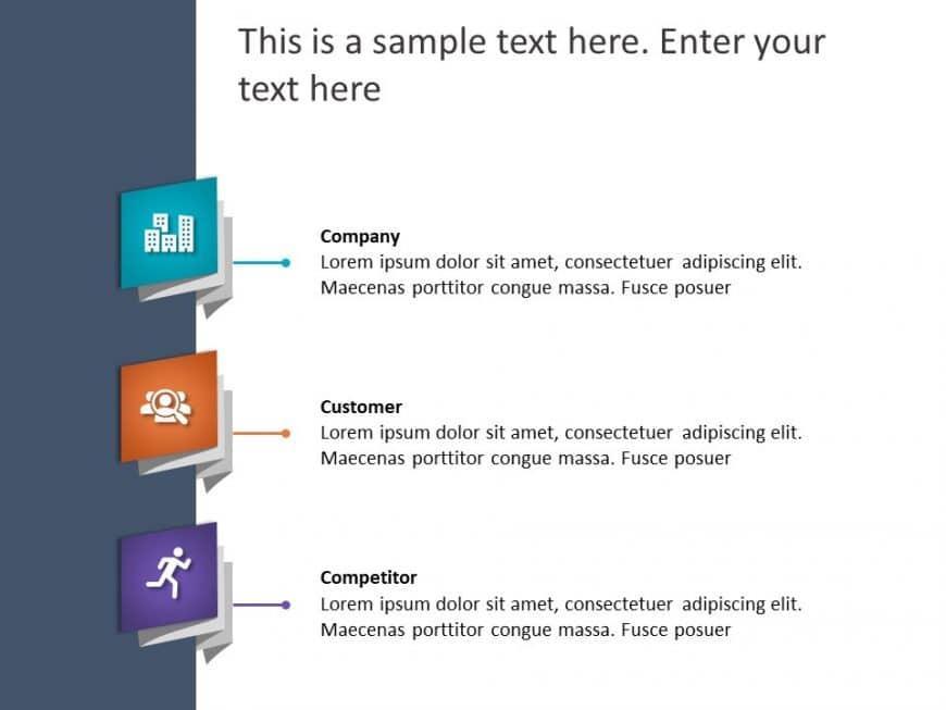 3Cs Marketing PowerPoint Template 14