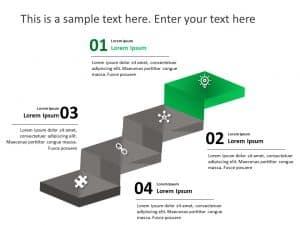 Business Roadmap PowerPoint Template 47