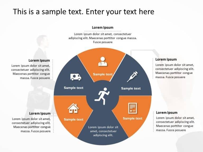 Circular Process PowerPoint Template