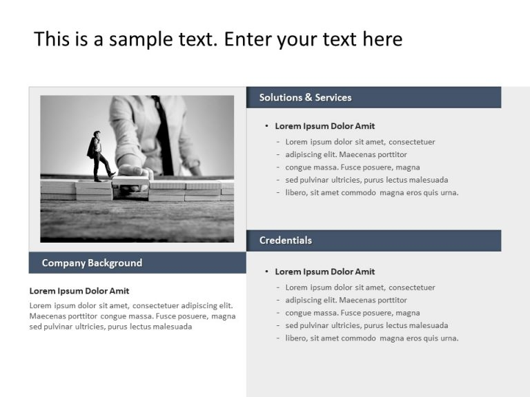 Company Capabilities PowerPoint Template 13