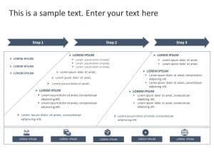 Business Roadmap PowerPoint Template 48