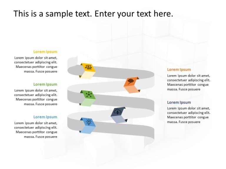 Business Roadmap PowerPoint Template 51