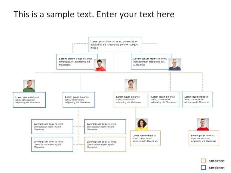 Org Chart PowerPoint Template 25