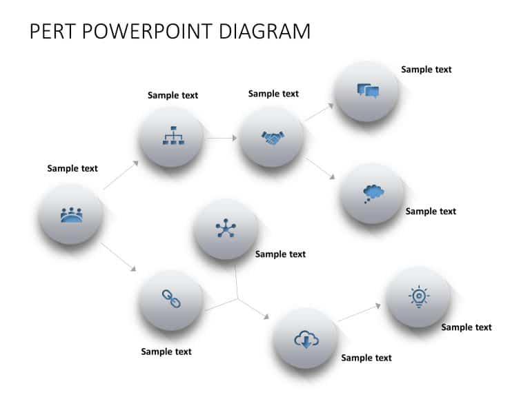 Pert Chart Powerpoint Template 1