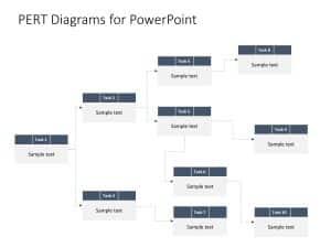 Pert Chart Powerpoint Template 2