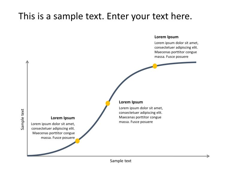 S Curve PowerPoint Template