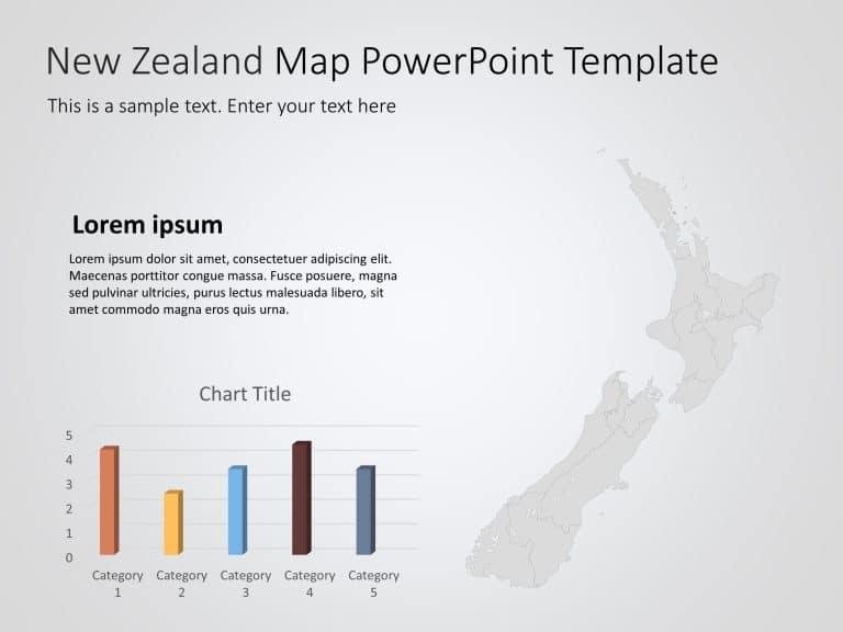 New Zealand Map PowerPoint Template 1