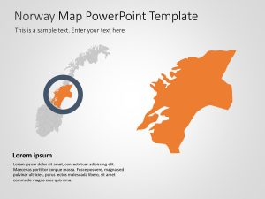Norway Map PowerPoint Template 5