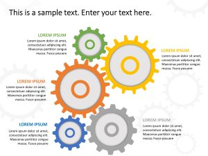 Gears Business Strategy PowerPoint Template