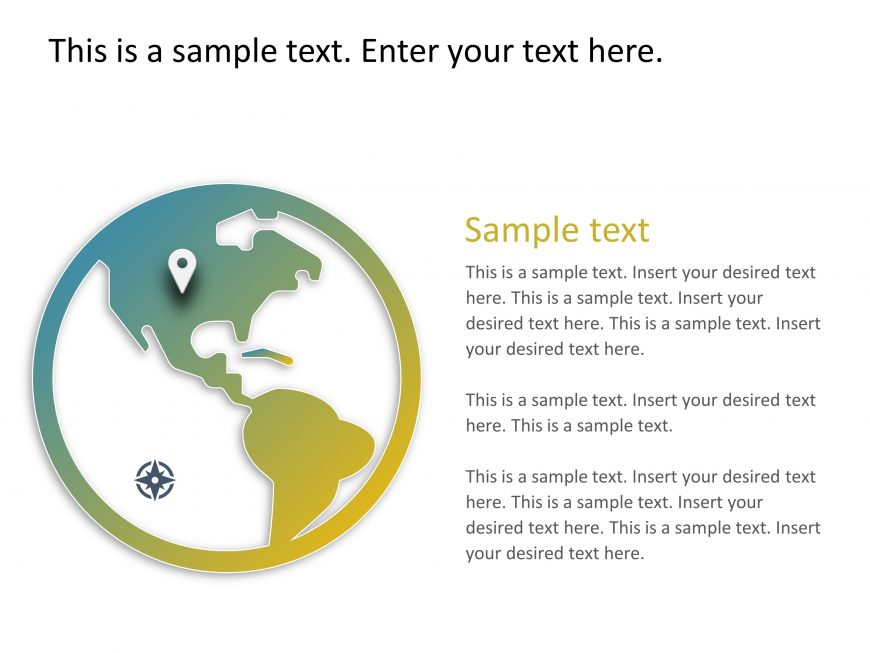 Company Location PowerPoint Template 1