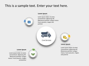3 Steps Capabilties PowerPoint Template