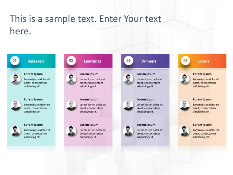 Product RoadMap PowerPoint Template 13