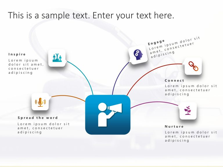 Communication Strategy PowerPoint Template 1