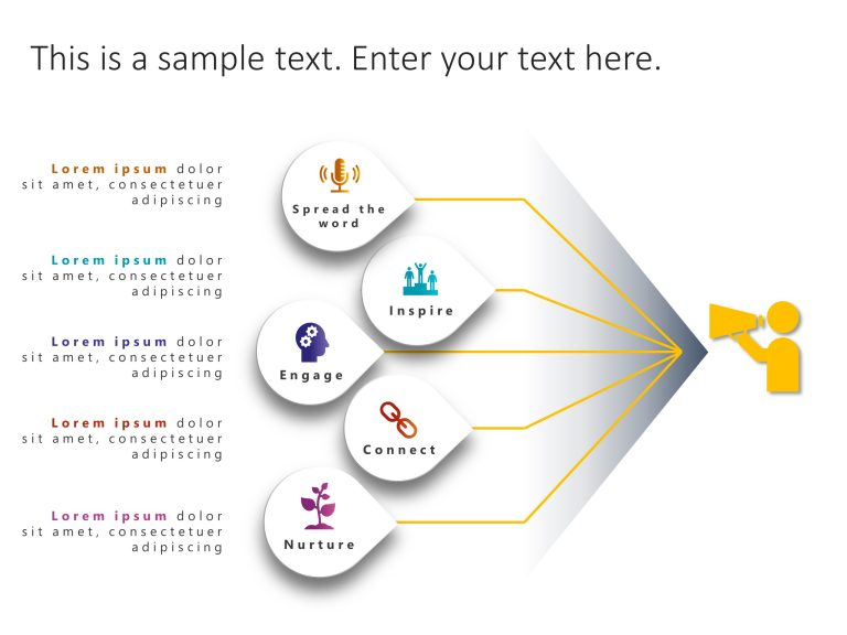Communication Strategy PowerPoint Template 2