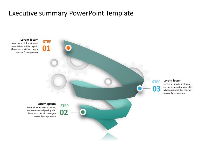 3 Steps Funnel Process PowerPoint Template