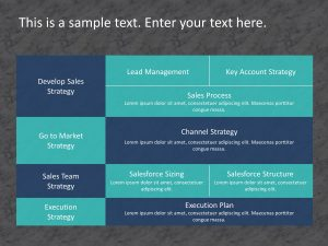 Sales Strategy PowerPoint Template