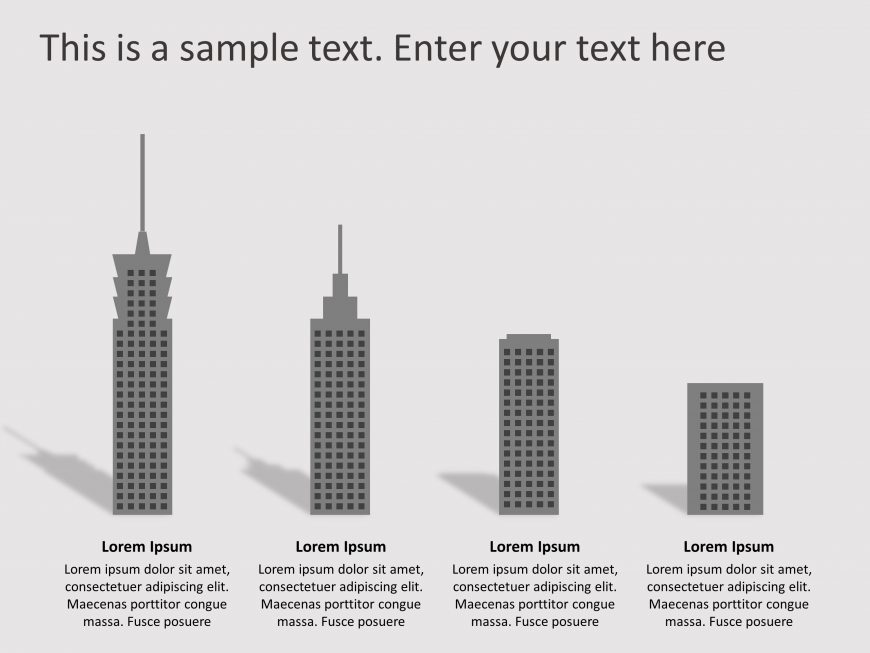 RealEstate Growth PowerPoint Template 1