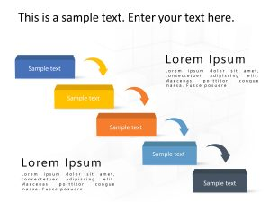 5 Steps Business Process PowerPoint