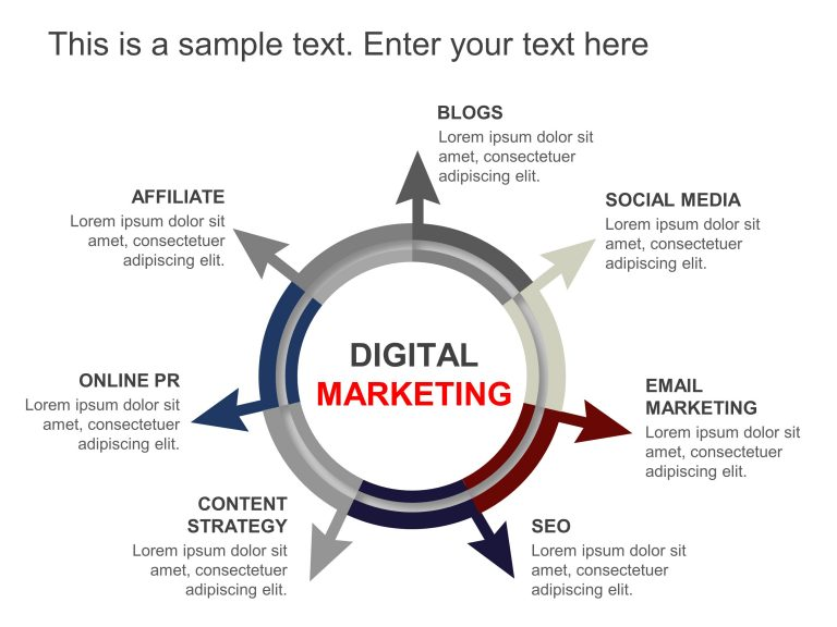 Digital Marketing Strategy PowerPoint