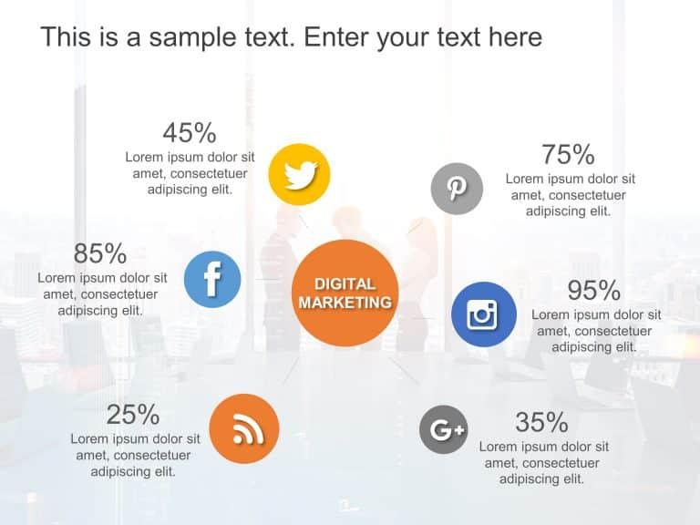 Free Digital Marketing Strategy Infographics 1