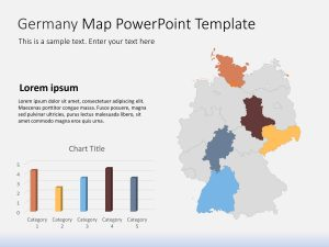 Germany Map PowerPoint Template 1
