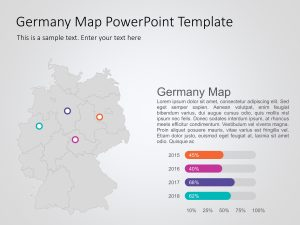 Germany Map PowerPoint Template 2