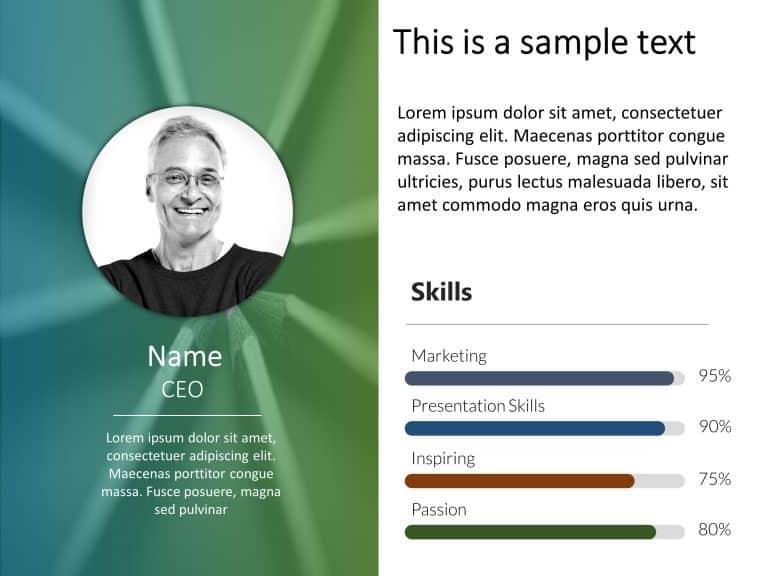 Employee Resume PowerPoint 2