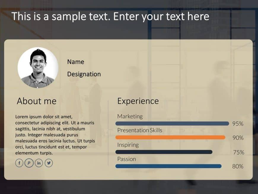 Employee Resume PowerPoint 3