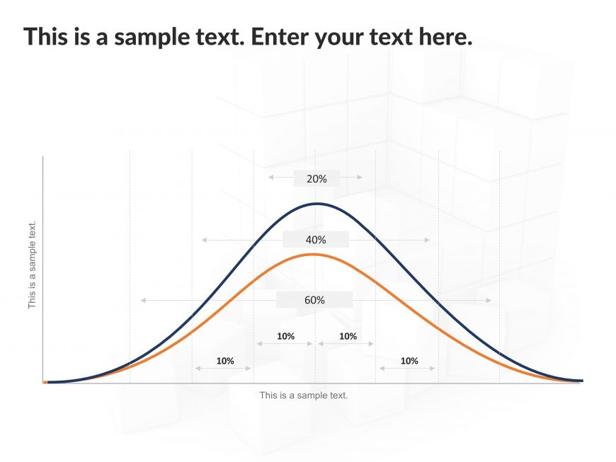 Bell Curve PowerPoint Template 2