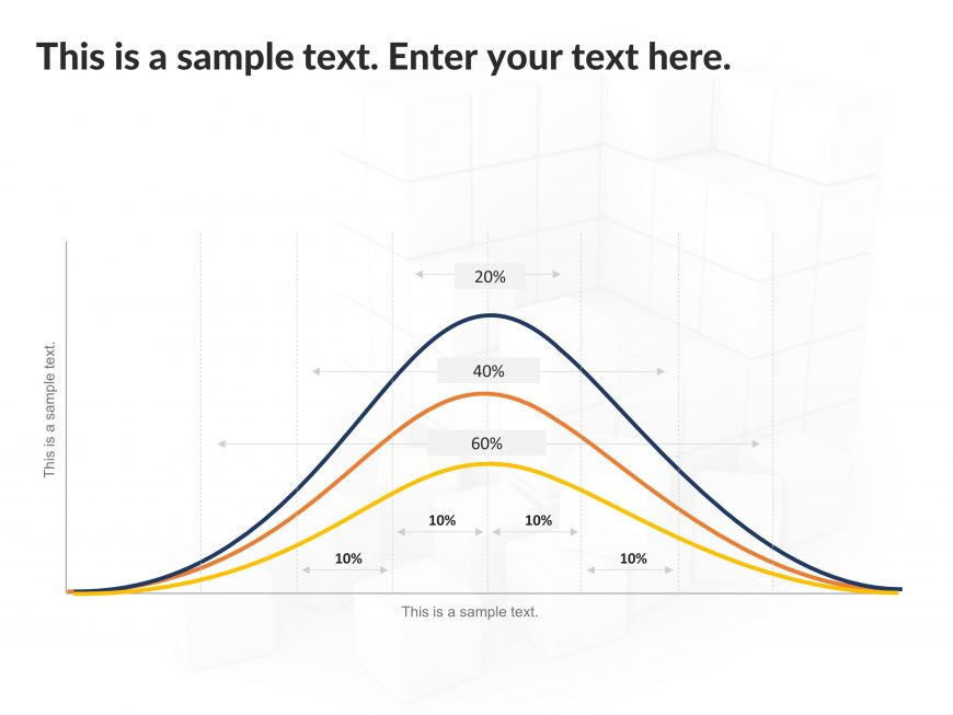 Bell Curve PowerPoint Template 3