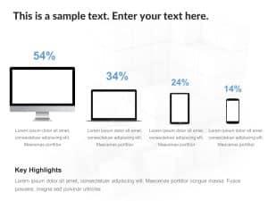 Social Media Device Penetration PowerPoint