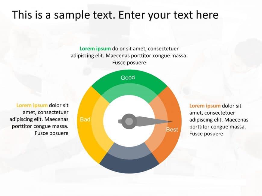Speedometer Options PowerPoint