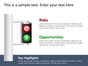Traffic Light Risk and Opportunity
