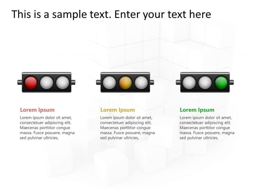 Traffic Light Status PowerPoint 1
