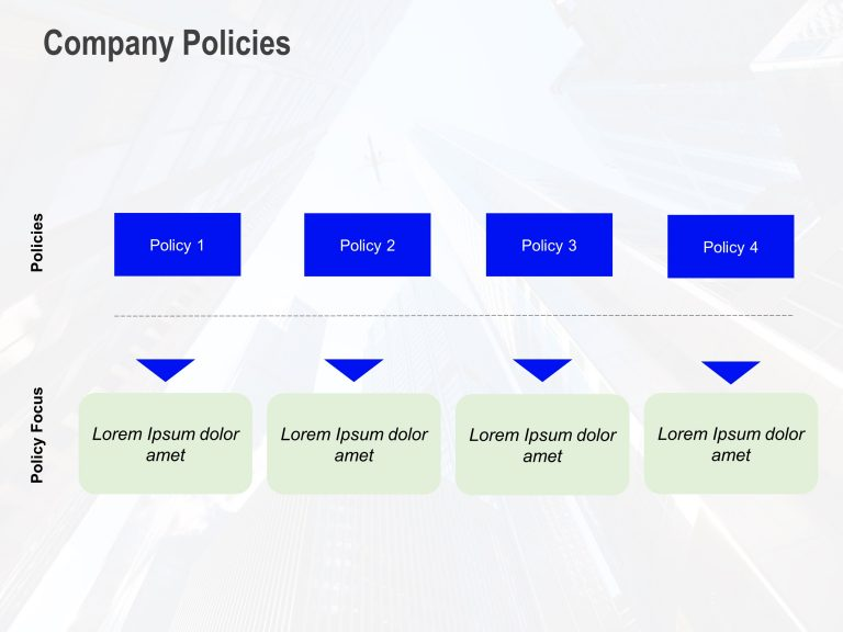 Company Policies PowerPoint Template