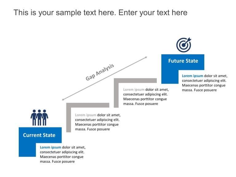 Gap Analysis PowerPoint Template 3