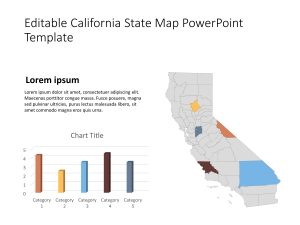 California Map PowerPoint Template 3