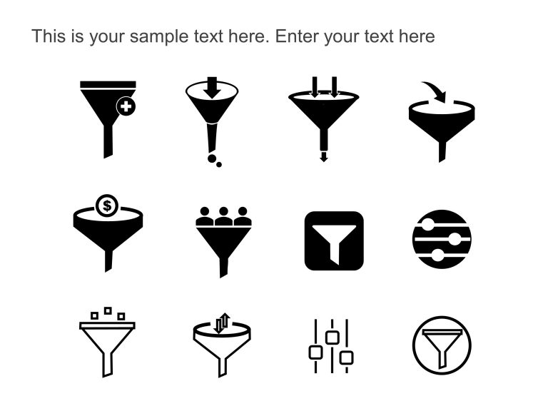 Filter PowerPoint Icons