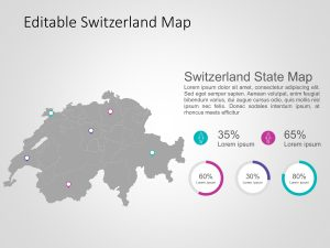 Switzerland Map PowerPoint Template 6