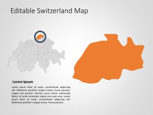 Switzerland Map PowerPoint Template 7