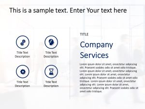 Company Services PowerPoint Template 1