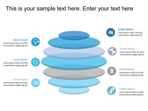 Animated 7 Steps Product Features PowerPoint